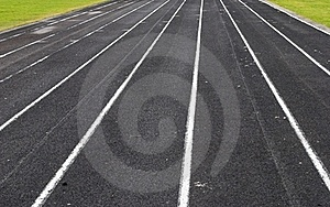 Running Track Royalty Free Stock Images - Image: 18450649