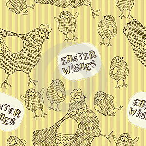 Easter Seamless Pattern Royalty Free Stock Photo - Image: 18453725