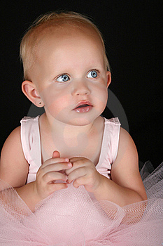Baby Ballerina Stock Images - Image: 18453814