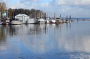 A Marina Environment. Stock Images - Image: 18455364