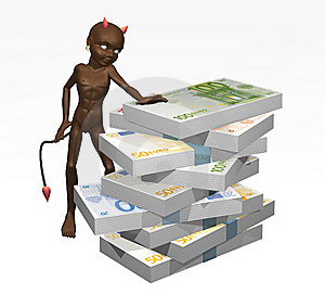 Devil-8 Royalty Free Stock Images - Image: 18455679