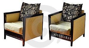 仿古亚洲沙发 免版税库存照片 - 图片: 18457028