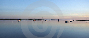 Dawn On The Estuary Stock Images - Image: 18459944