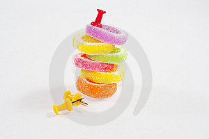 Sticky Sweet, Colorful 1 Stock Images - Image: 18470184
