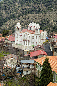 Orthodox Church In Pedoulas Village Stock Photos - Image: 18471413