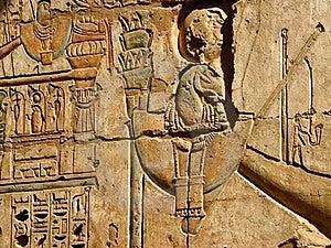 Ancient Egyptian Wall Royalty Free Stock Photo - Image: 18475245