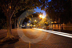 Hobart At Night Royalty Free Stock Image - Image: 18476696