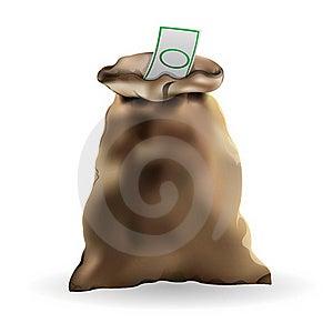 Money Bag Stock Photo - Image: 18477950