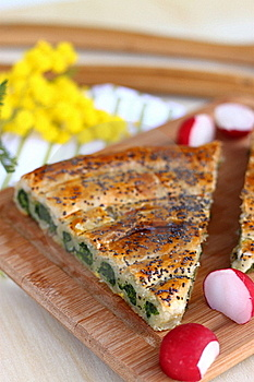 Spinach Tart Stock Photos - Image: 18478583