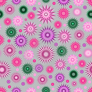 Abstract Floral Seamless Background Royalty Free Stock Image - Image: 18479586