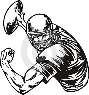 Football. Royalty Free Stock Photos - Image: 18481528