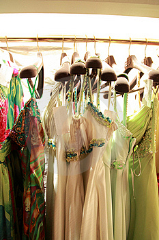 Dressing Shop Royalty Free Stock Photography - Image: 18482047