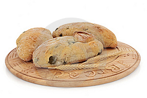 Olive Bread Rolls Stock Image - Image: 18482611
