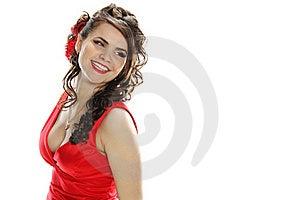 Romantic Coiffure Stock Photo - Image: 18485250