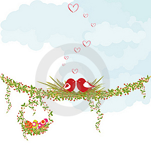 Springtime Easter Holiday Greeting Card Royalty Free Stock Photography - Image: 18487667