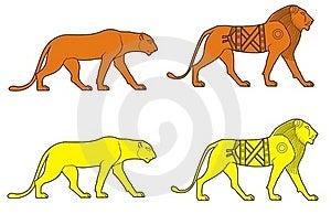狮子 库存图片 - 图片: 18489171