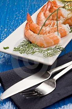 Prawns Appetizer Stock Photo - Image: 18489270