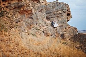 Couple On The Mountain Royalty Free Stock Photos - Image: 18490598
