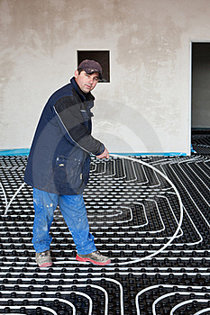Underfloor Heating And Cooling Royalty Free Stock Photo - Image: 18491305