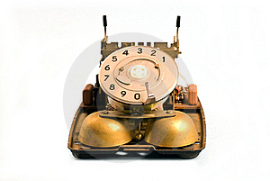 Nude Telephone Royalty Free Stock Images - Image: 18492449