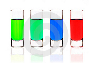 Shot Glasses Stock Images - Image: 18492554