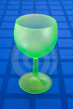 Stylish Green Wineglass Royalty Free Stock Images - Image: 1850749
