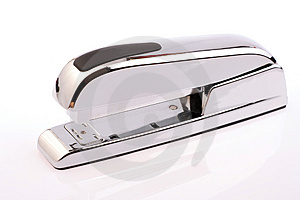 Silver Stapler Stock Photos - Image: 1855923