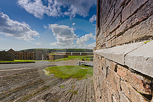 Old Building In Charles Fort,  Kinsale Stock Photography - Image: 18502472