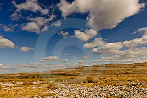 Irish Landscape - The Burren  Royalty Free Stock Photography - Image: 18502527