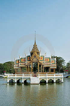 Siam Old Palace Stock Photo - Image: 18504380