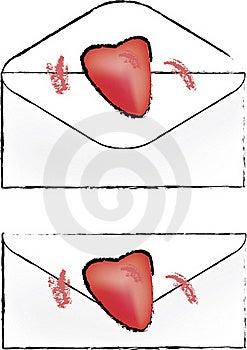 Love Letter Logo Stock Images - Image: 18504564