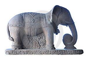 Elephant Sculpture Stock Photos - Image: 18505183