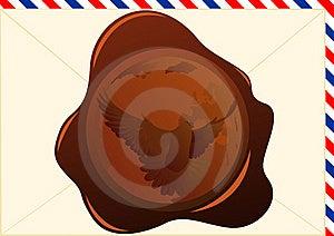 Wax Seal Stock Image - Image: 18505581