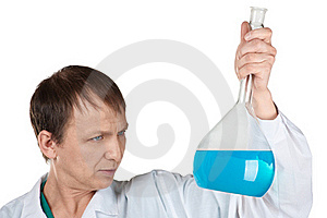 Researcher Carrying Out Scientific Research Stock Images - Image: 18506934