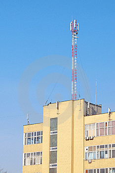 Transmitter Tower Royalty Free Stock Photography - Image: 18507567