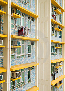 Apartment Block Royalty Free Stock Image - Image: 18511846