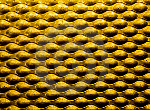 Yellow Metallic Background Stock Photos - Image: 18512293