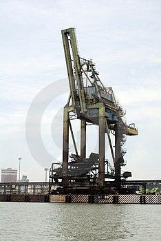 Cargo Crane Stock Image - Image: 18512621