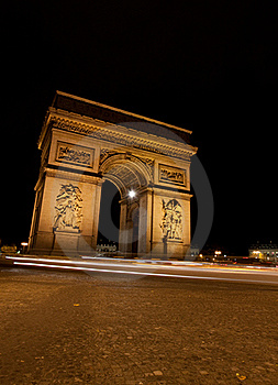 Arc De Triomphe Royalty Free Stock Photography - Image: 18516167