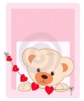 Teddy Bear Illustration Royalty Free Stock Images - Image: 18517319