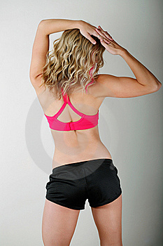Young Woman Fitness Stock Photos - Image: 18518743