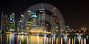 Skyscraper In Singapore Royalty Free Stock Images - Image: 18518899