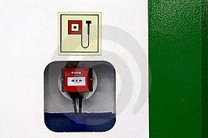 Fire Alarm Stock Image - Image: 18519951