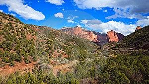 Kolob Canyons Panorama Royalty Free Stock Photography - Image: 18520737