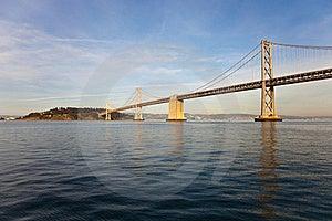 Bay Bridge And Treasure Island Stock Image - Image: 18520801