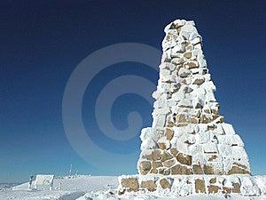 Felberg Gipfel - Bismark-Denkmal Stockbild - Bild: 18521291