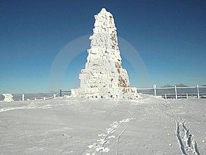 Felberg Gipfel - Bismark-Denkmal Lizenzfreie Stockfotografie - Bild: 18521307