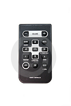 Multimedia Panel Or Console Stock Images - Image: 18522454