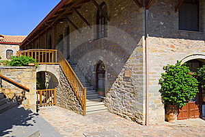Monastery In Meteora, Greece Royalty Free Stock Images - Image: 18522519