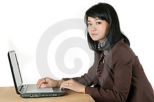 Young Secretary's Office  Royalty Free Stock Photo - Image: 18523175